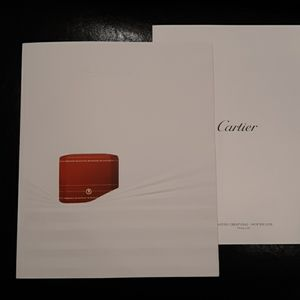 Cartier winter 2019 brochure includes price list